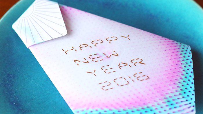 ステキな年賀状、もらったよ!《2016》