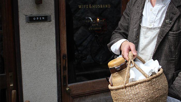 桜の季節におすすめ!京都にある珈琲店『WIFE&HUSBAND』の<br />「ピクニックバスケット」メニューが楽しい