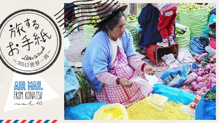 旅するお手紙~365日世界一周~ vol.46|fromペルー ペルーの植物を学ぼう!