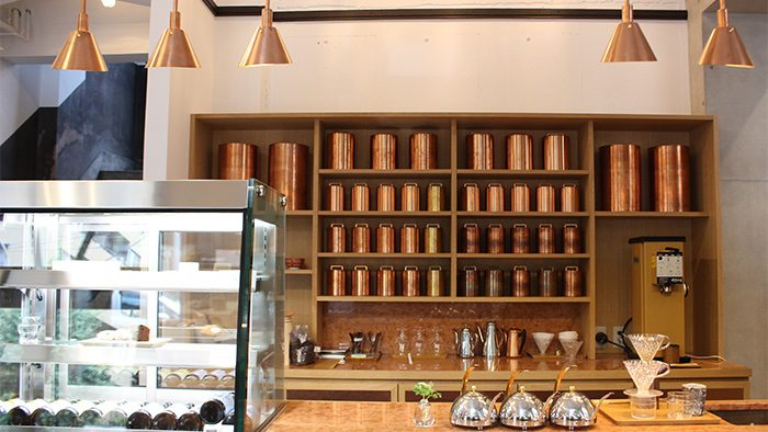 京都の老舗茶筒メーカー開化堂が手掛けるKaikado Café