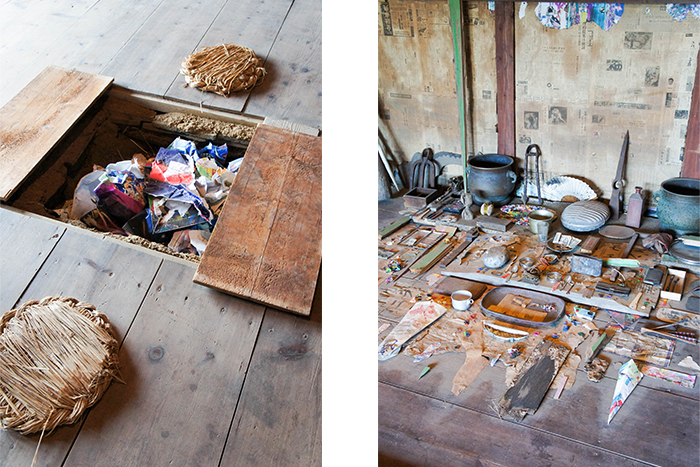 瀬戸内国際芸術祭 鬼の家