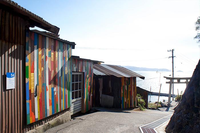 男木島 路地壁画プロジェクト wallalley