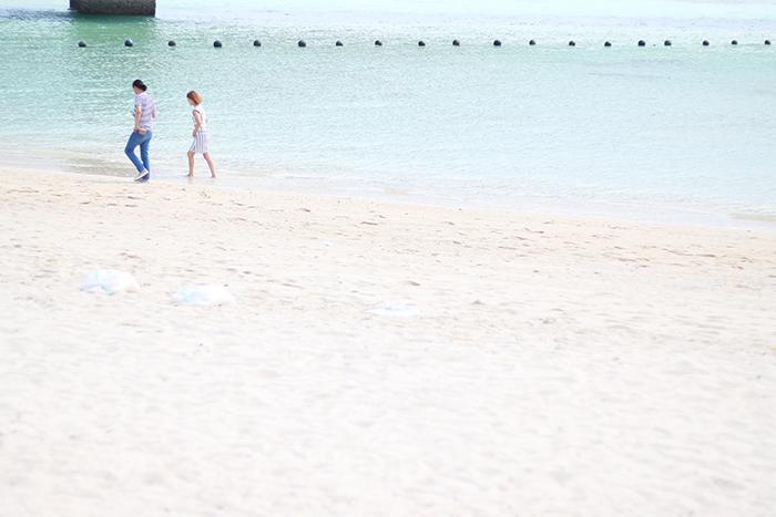旅写真 一眼レフ 沖縄 古宇利島 ビーチ
