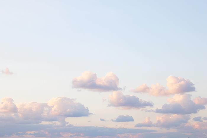 旅写真 一眼レフ 沖縄 空 マジックアワー