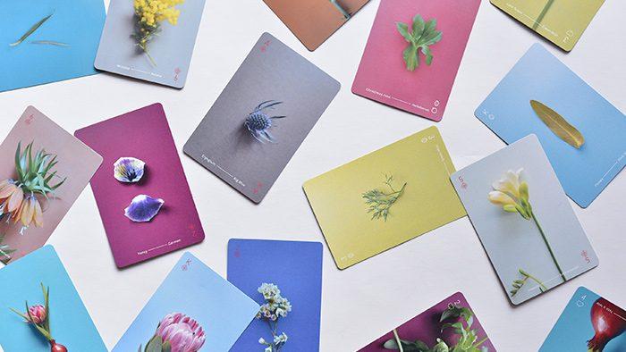 植物をテーマにしたOF PLANTSのトランプ「PLAYING CARDS」