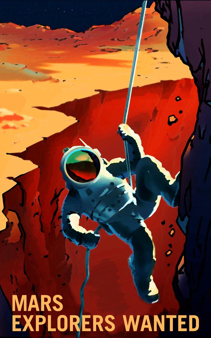 火星探検家、求む