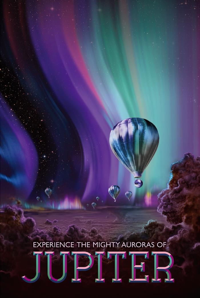 圧倒的な木星のオーロラを体験しよう