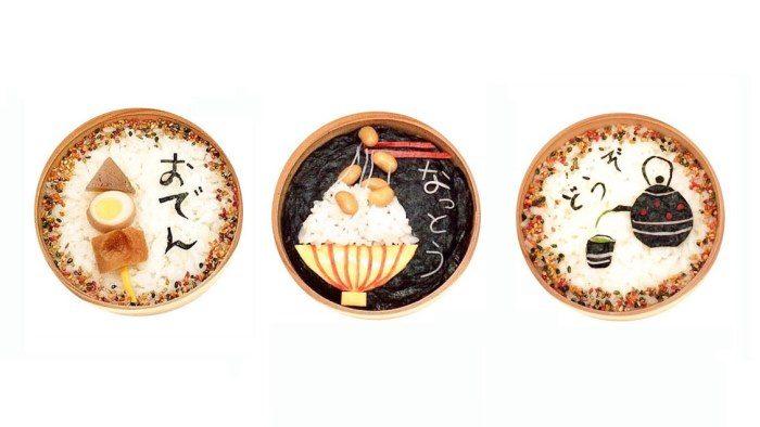 まるでアート!「こころのたね。」yasuyoさんの曲げわっぱ弁当
