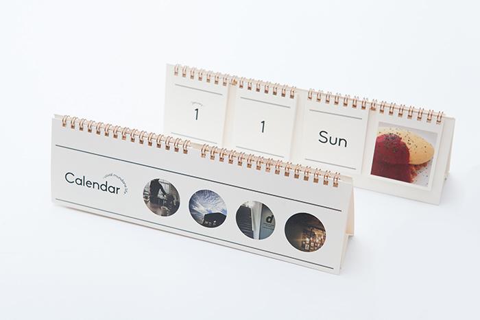 28枚の写真で作るナチュラルテイストの卓上カレンダー「Calendar」