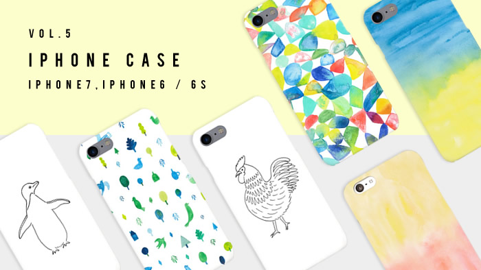 手描きイラストを使った箱庭オリジナルのiPhoneケースが新登場!
