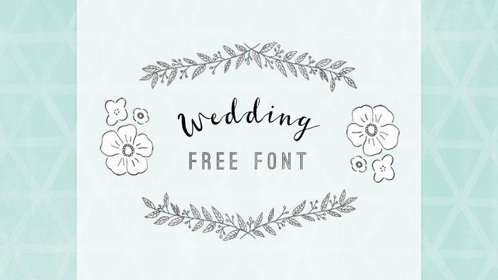 結婚式DIYに役立つ欧文フリーフォント10選