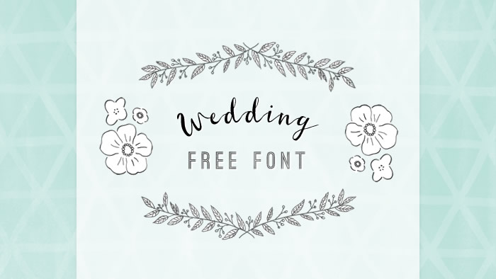 デザインのひきだし見せます!結婚式DIYに役立つ欧文フリーフォント10選