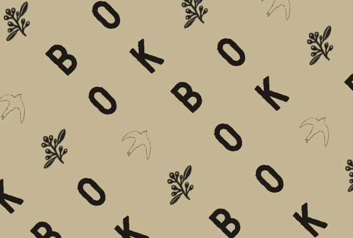 6. 文字とイラストを斜めに配置したデザイン