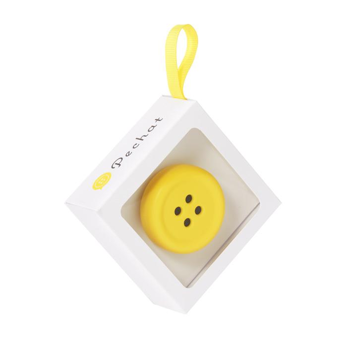 ボタン型スピーカー「Pechat(ペチャット)