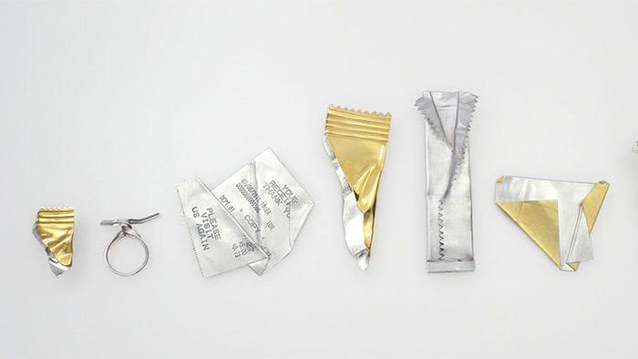 """これ、アクセサリーなの!?日常にある""""ゴミ""""を繊細に表現した「Rubbish Jewellery」"""