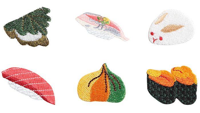 お寿司から土偶まで?!日本伝統のモチーフがかわいい刺繍ブランド「京東都」