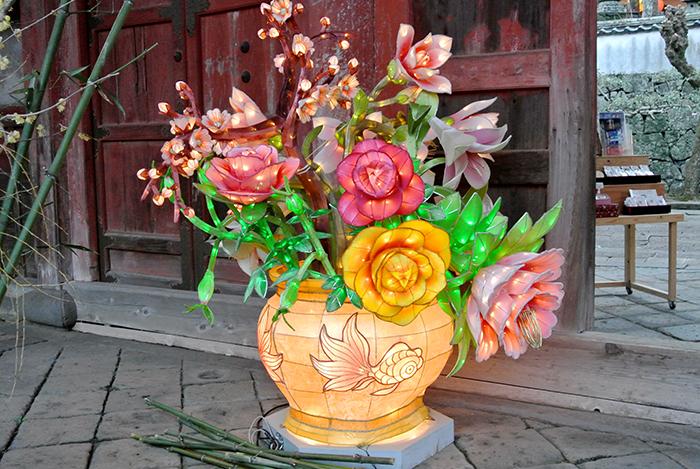 花のランタン