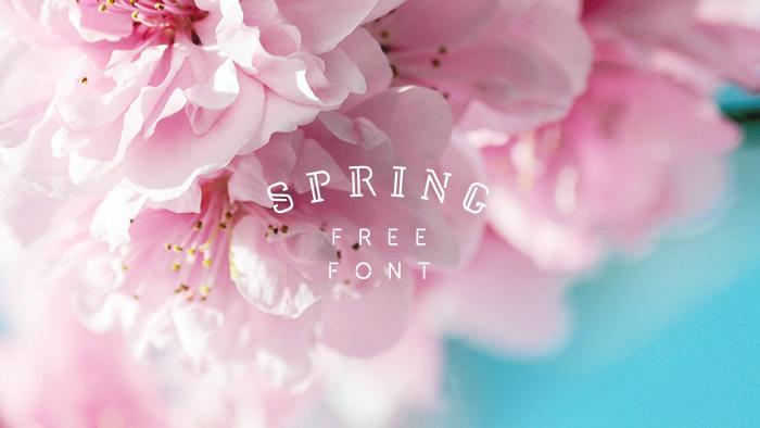デザインのひきだし見せます!春のデザインに取り入れたい欧文フリーフォント10選