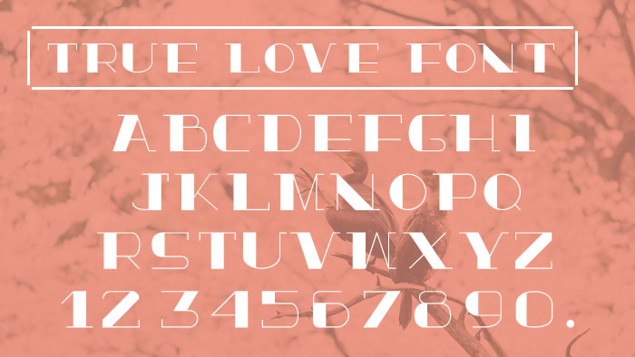 True Love Font