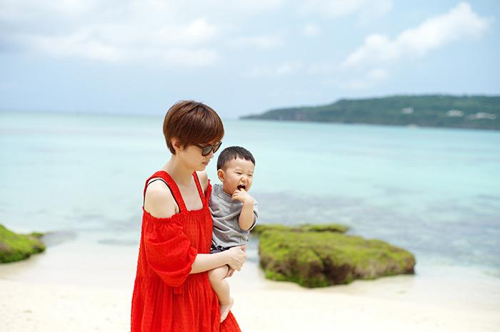 家族で沖縄旅行へ