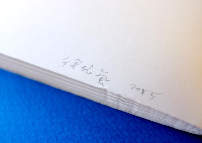この巻末の暗号のような2つの文字を頼りに調べてみると、森林燦燦(sen lin tsan tsan)というお店に関係するZINEのようで、Hsu Yi Lanさんという作家さんが作ったZINEだったんです。