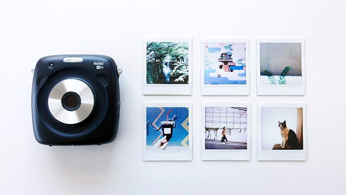 """待望の""""ましかく""""写真が撮れるチェキ「instax SQUARE SQ10」が発売!早速使ってみました。"""