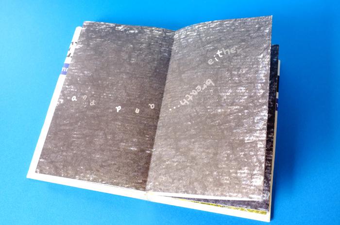 すると、突然魚がいなくなり真っ黒なページに。もしかすると魚が何かになったのかな?と思いながら次をめくってみると、