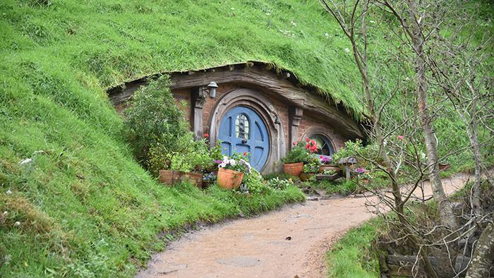 ニュージーランド北島の旅Vol.3 映画の世界を楽しめるホビット村へ ...