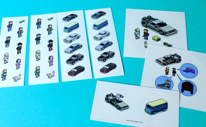 『BACK TO THE FUTURE -VEHICLES IN PIXELS-』