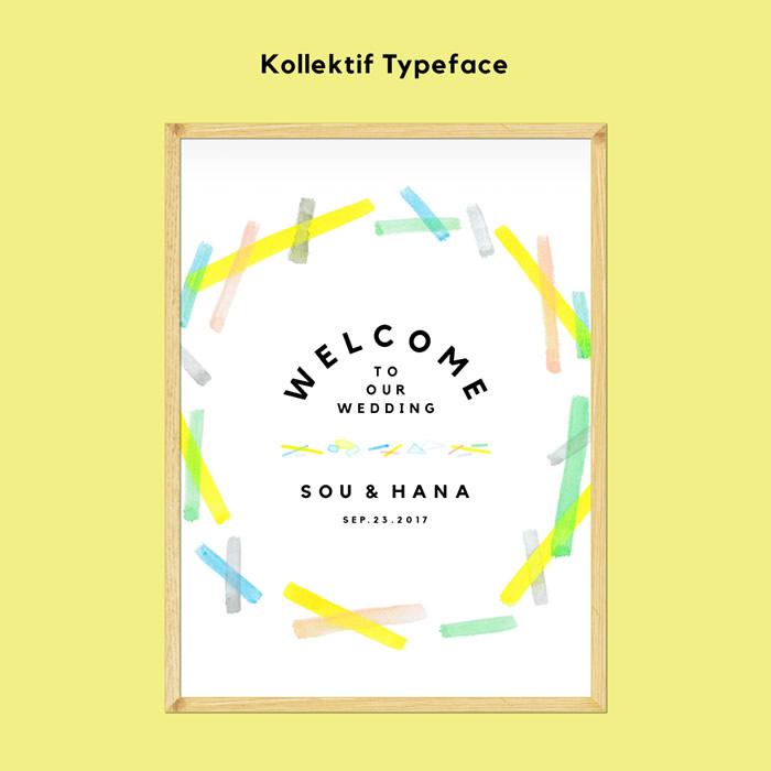 12. Kollektif Typeface × SUNLIGHT COLLECTION きらきらと輝き続ける「太陽の光」をテーマにしたデザイン