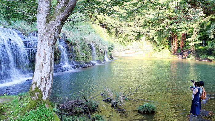 絶景に癒される富山旅vol.4 温泉宿から始まる、宮島峡&稲葉山の自然散歩へ。