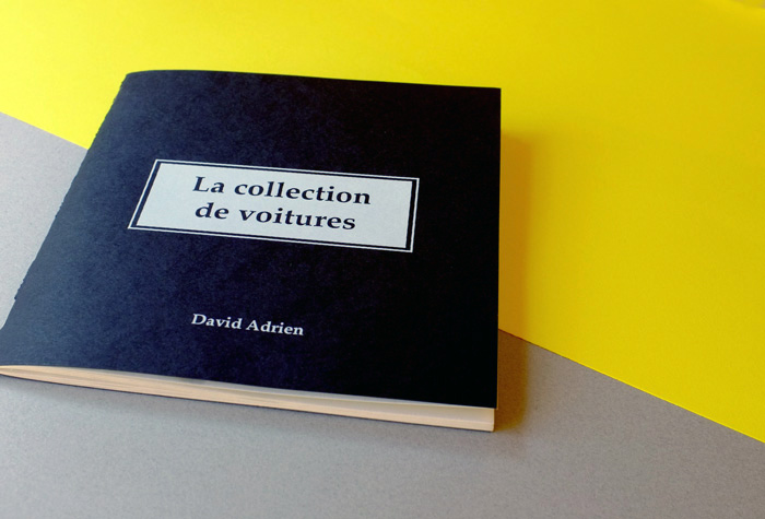 『La collection de voitures』 Davit Adrien