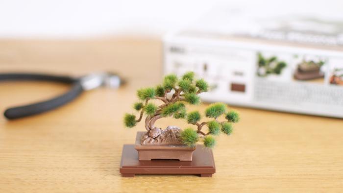 盆栽プラモデルキット