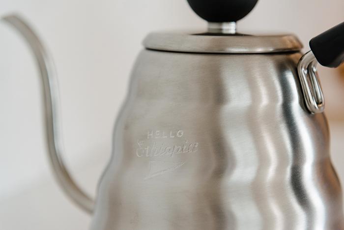 SAYURI NISHIKUBO『ステンレスのコーヒーポット』