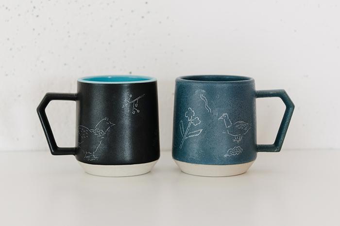 iriki 『陶器のマグカップ』