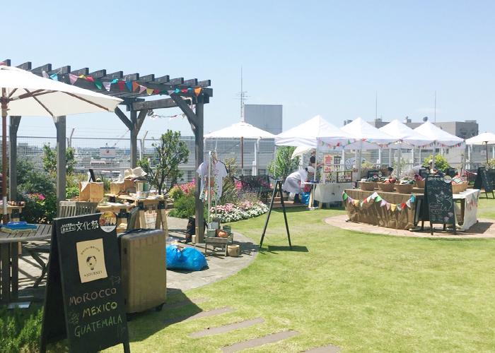 &JOURNEYもLUMINE荻窪の屋上でおこなわれるイベント「あおぞら文化祭」に出店した経験があります。