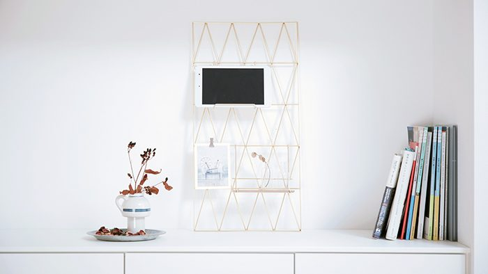 家中どこに置いても絵になる!便利なワイヤーパネルを美しくデザインしたプロダクト「BASIS」
