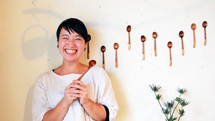 「私はスプーンを極める!」OLからスプーン作家に転身した宮薗なつみさんの<br />miyazono spoon