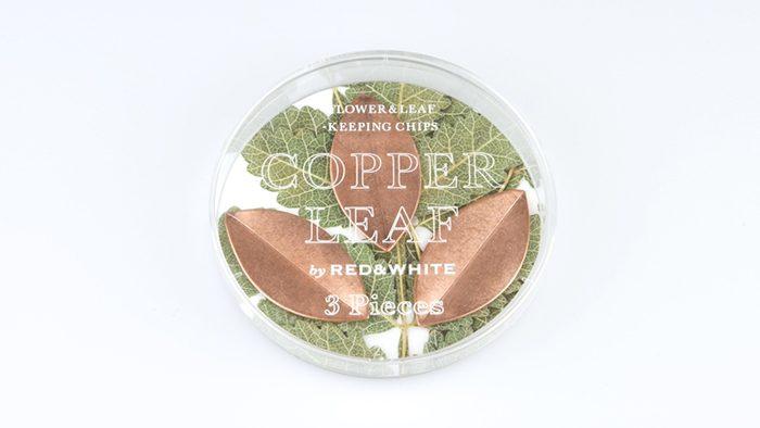 切り花を長持ちさせるフラワーキーパー「COPPER LEAF」