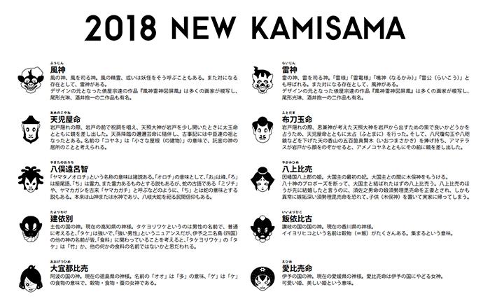 日本の神々シリーズ ピンバッチ