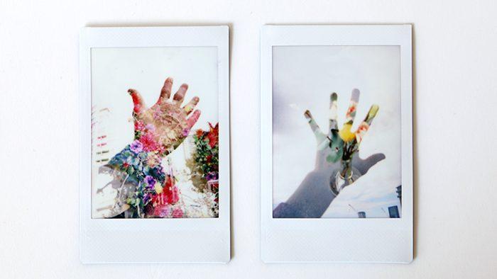 二重露光でアートな写真を撮ろう!チェキで出来る4つの撮影パターン。