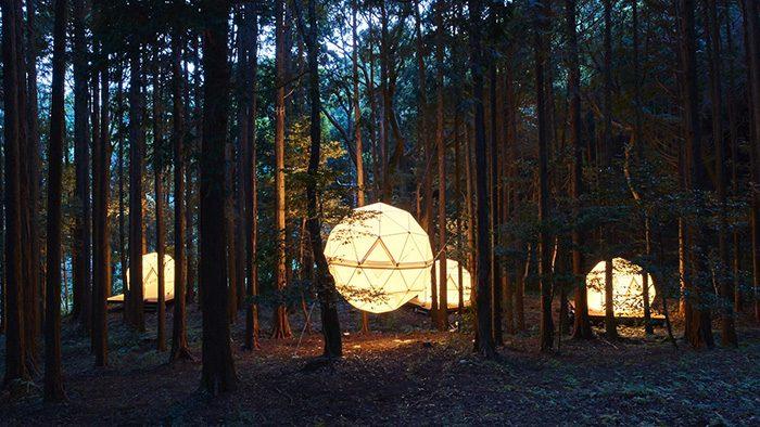"""森の中にテントが浮かぶ!日本初の""""泊まれる公園""""「INN THE PARK」に行ってきました。"""