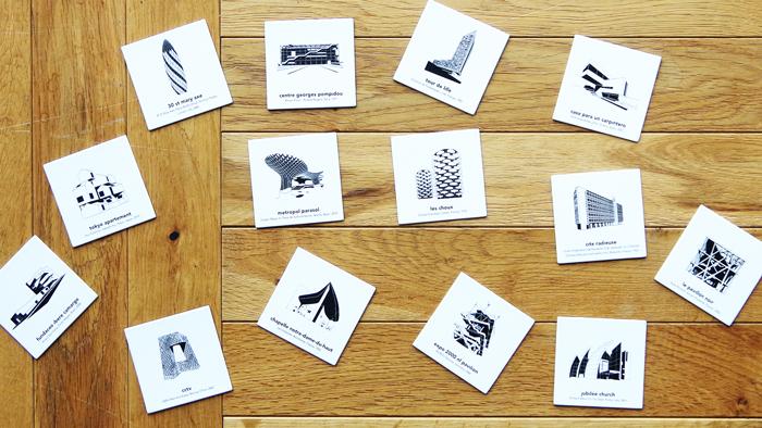 建築記憶ゲーム