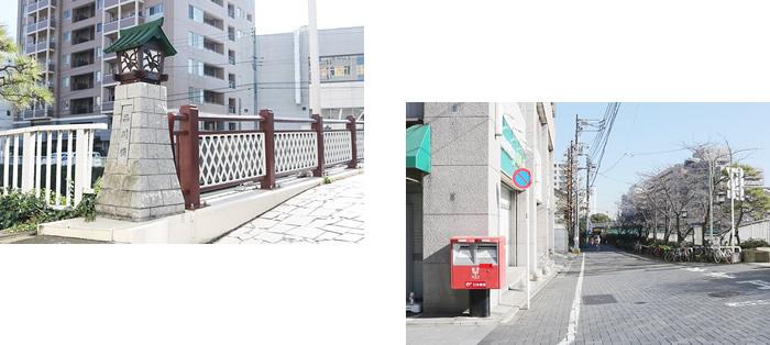 京急線「新馬場」駅に到着したら、北口より徒歩約7分歩きます。