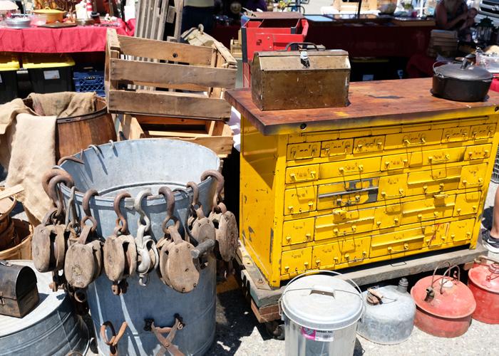 北カリフォルニア最大のアンティークマーケットAlameda Point Antiques Faire