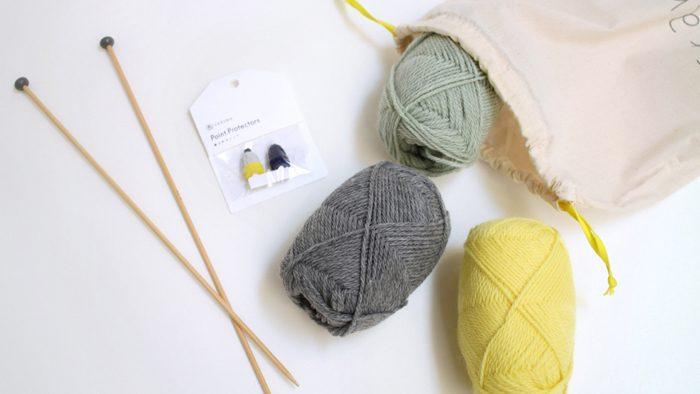 かわいい色とデザインで編み物がしたくなる!DARUMA STOREの編み物キット