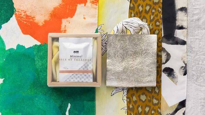 美しく貴重なテキスタイルのポケットチーフ×チョコレート専門店Minimalのコラボバレンタインギフトはいかが?