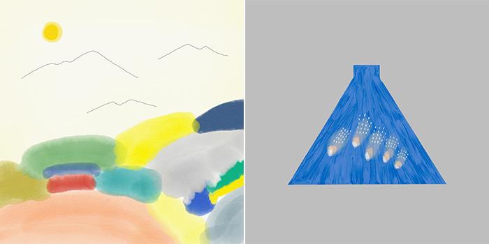 Adobe Photoshop Sketchでつくった作品たち/Bamboo Sketchを使用したもの