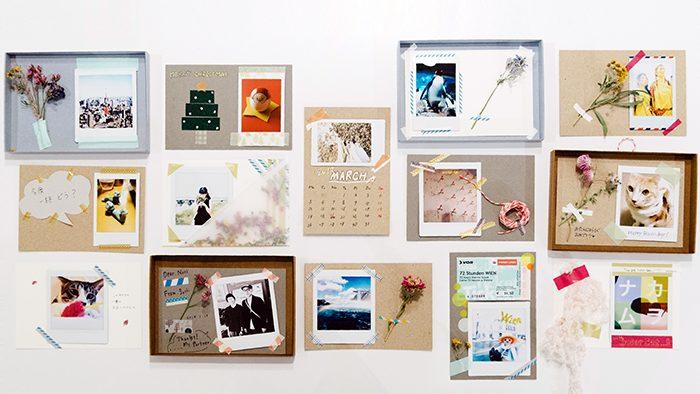 写真のある毎日を。チェキを飾って&贈って楽しむアイデア3選