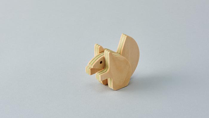 木のおもちゃ「アニマルパズル ezorisu」